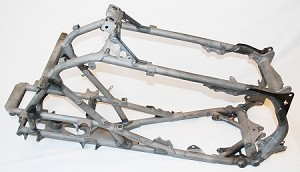 TRX450R Frame Gusset Kit - MX