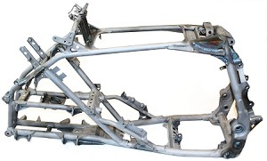 YFZ450 Frame Gusset Kit - MX